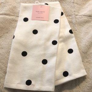 Kate Spade Kitchen Towels, Set of 2